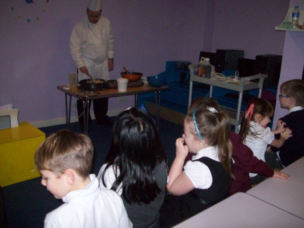 Kirkcaldy Cookery Demo
