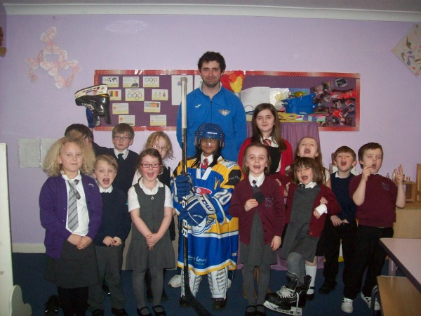 Kirkcaldy Fife Flyer visits after school