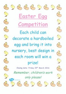 Easter Competition 2016