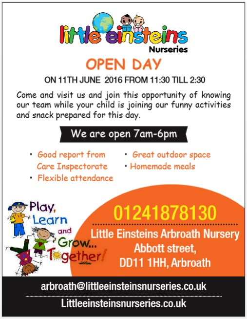 Arbroath Open Day June 2016